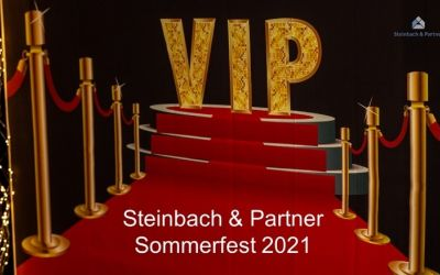 Steinbach & Partner Summer Festival 2021 – Thanks to all employees