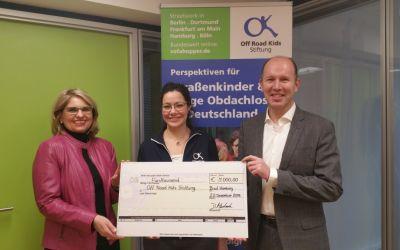 Neueröffnung des Frankfurter Standortes der Off Road Kids Stiftung